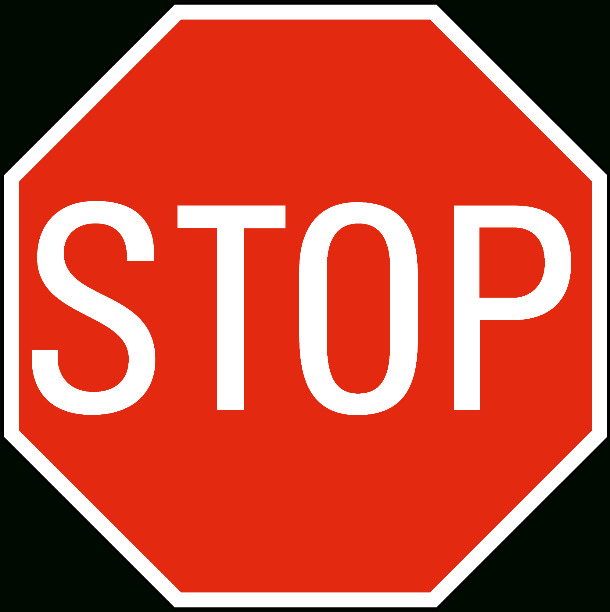 Free Printable Stop Signs, Download Free Clip Art, Free Clip Art On - Free Printable Stop Sign To Color