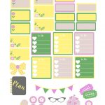 Free Printable Summer Planner Stickers | Amber Downs   Free Printable Summer Pictures
