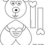Free Printable Sunday School Crafts (77+ Images In Collection) Page 1   Free Printable Bible Crafts