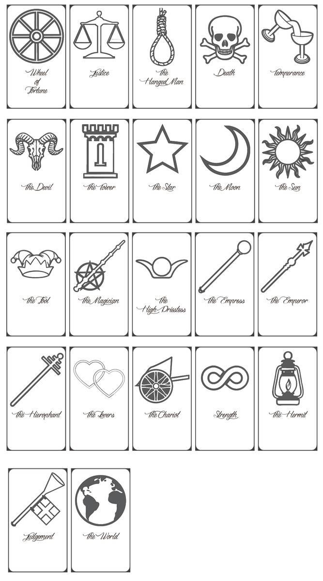 Free Printable Tarot Cards!keniakittykat On Deviantart - Printable Tarot Cards Pdf Free