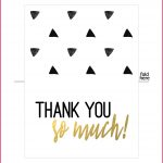 Free Printable Thank You Cards | Sop Examples   Free Printable Thank You