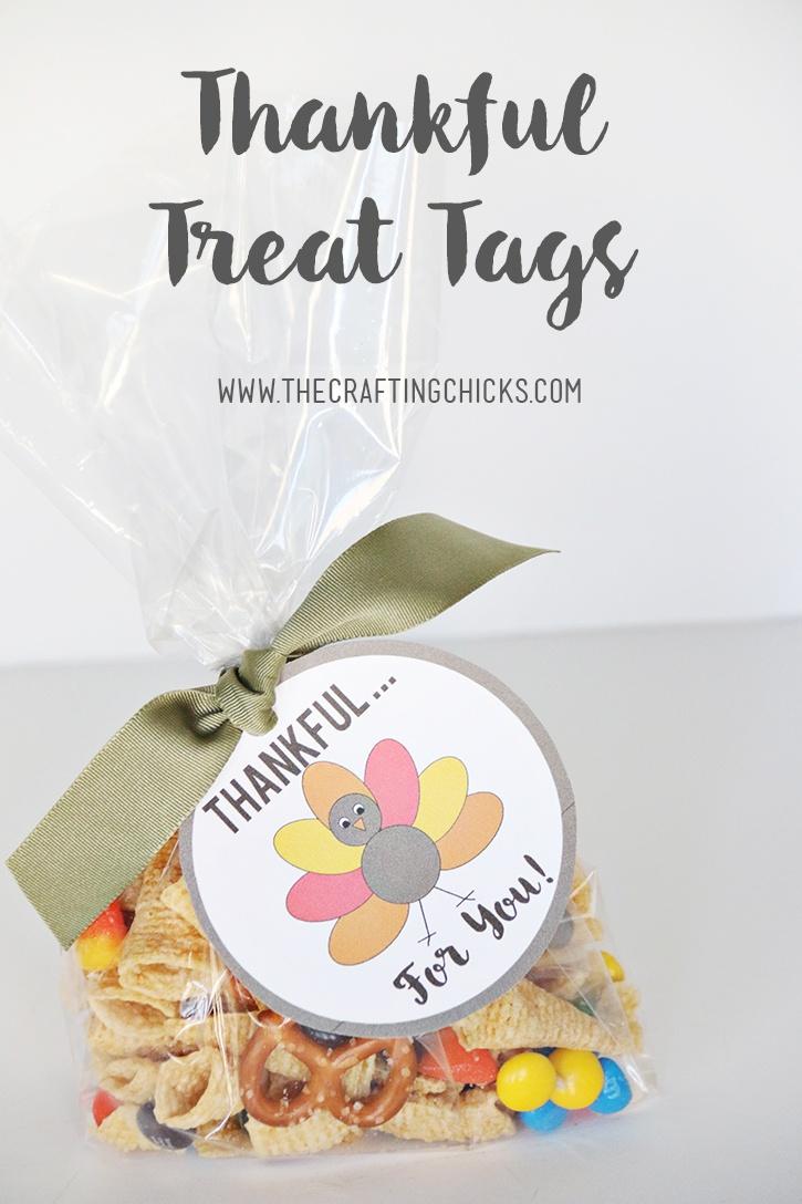 Free Printable Thankful Tags - Thankful For You Free Printable Tags
