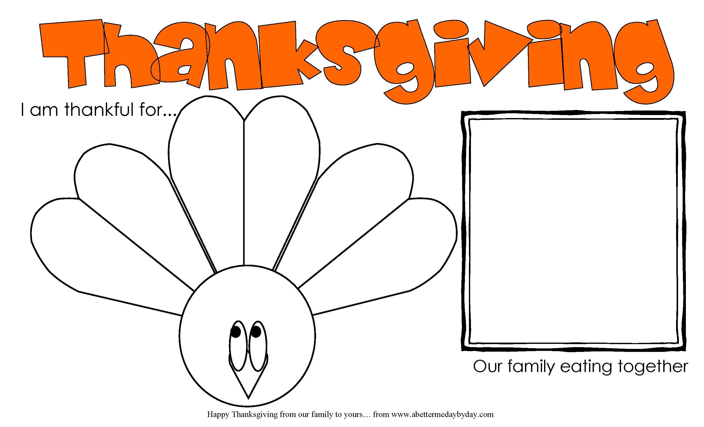 Free Printable: Thanksgiving Activity Place Mat For Kids And Adults - Free Printable Thanksgiving Activities