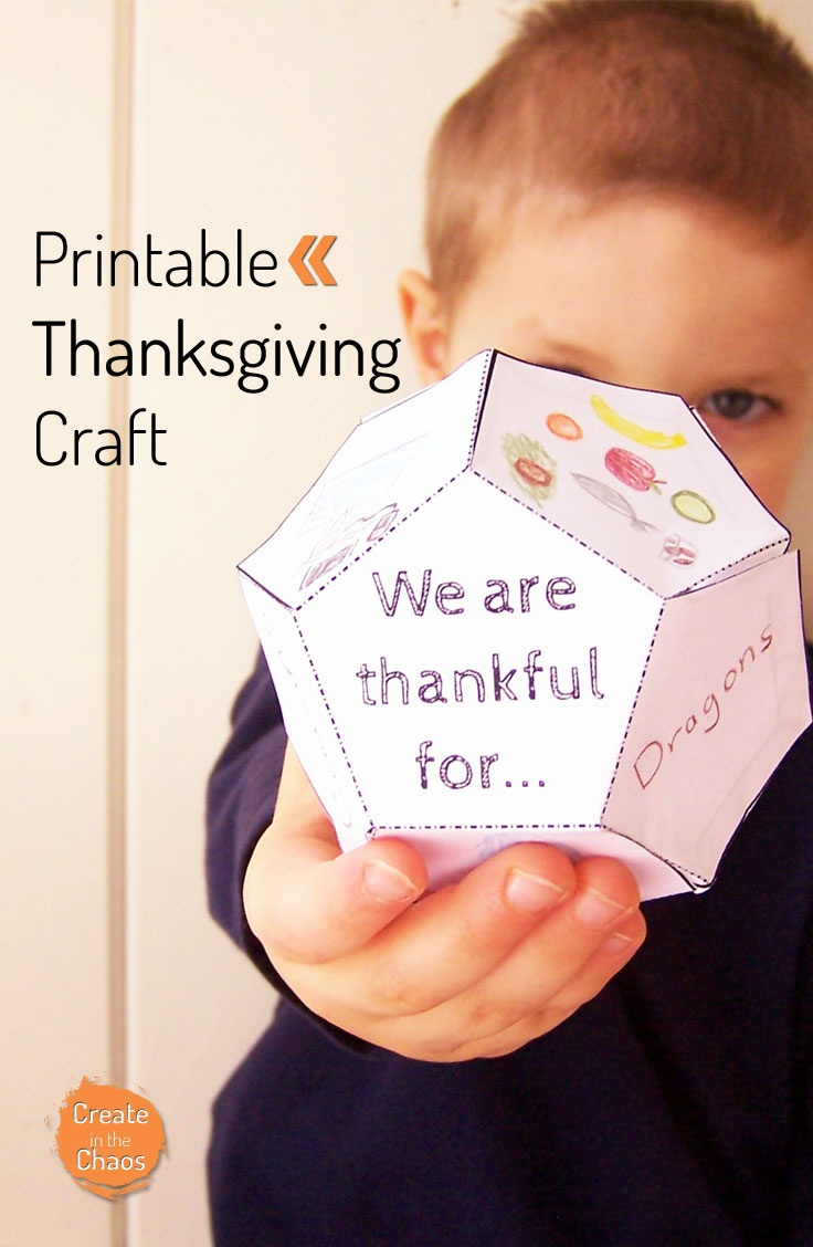 Free Printable Thanksgiving Craft For Kids - Money Saving Mom - Free Printable Thanksgiving Crafts For Kids