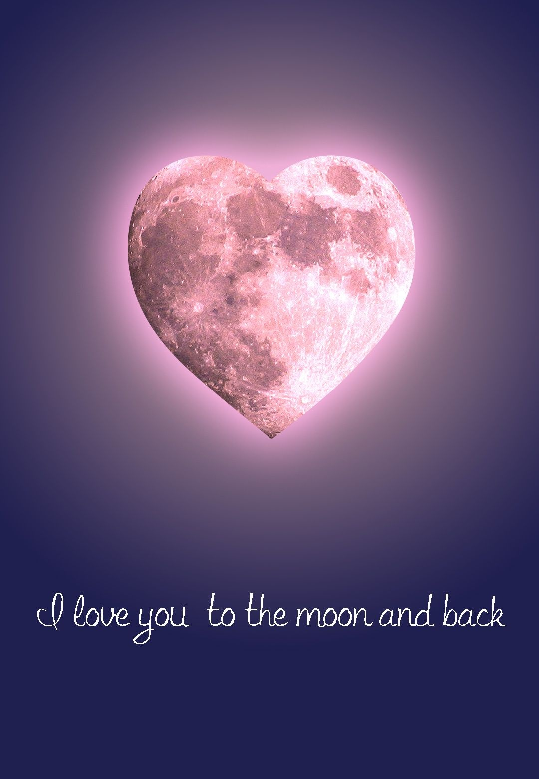 Free #printable 'to The Moon And Back' #love Greeting Card | Free - Free Printable Romantic Birthday Cards