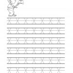 Free Printable Tracing Letter X Worksheets For Preschool | Abc 123   Free Printable Name Tracing Worksheets