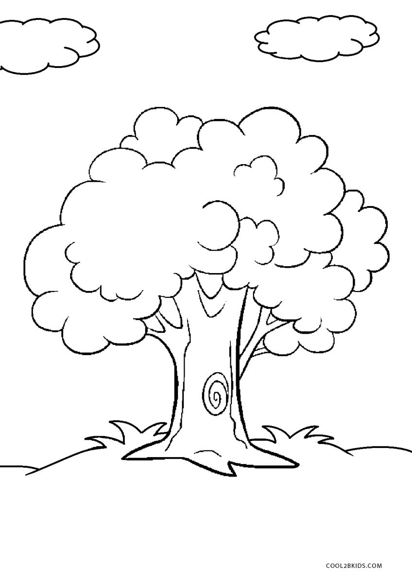 Free Printable Tree Coloring Pages For Kids | Cool2Bkids - Tree Coloring Pages Free Printable