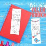 Free Printable Valentine Bookmark   Free Printable Valentine Bookmarks