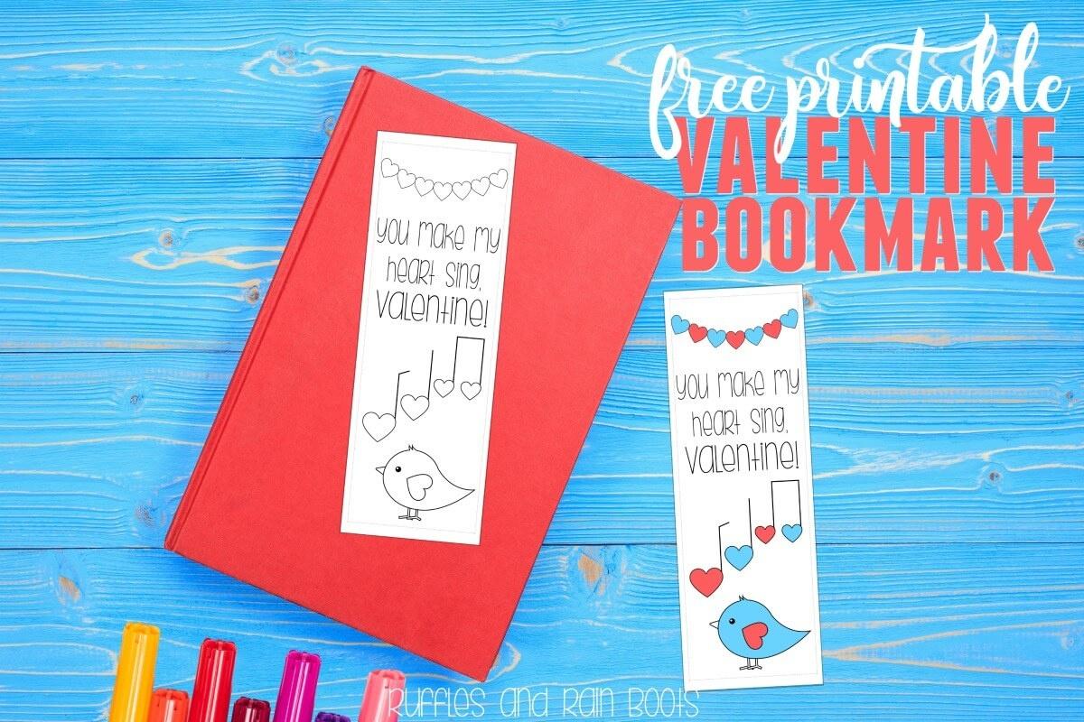 Free Printable Valentine Bookmark - Free Printable Valentine Bookmarks