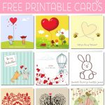 Free Printable Valentine Cards   Free Printable Valentines Day Cards For Mom And Dad
