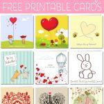 Free Printable Valentine Cards   Free Printable Valentine's Day Stencils