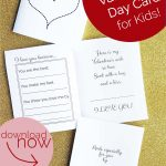 Free Printable: Valentine's Day Card For Kids | Moms Helping Moms   Free Printable Valentines Day Cards For Mom And Dad