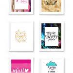 Free Printable Wall Art To Download Now   Sarah Titus   Free Printable Images