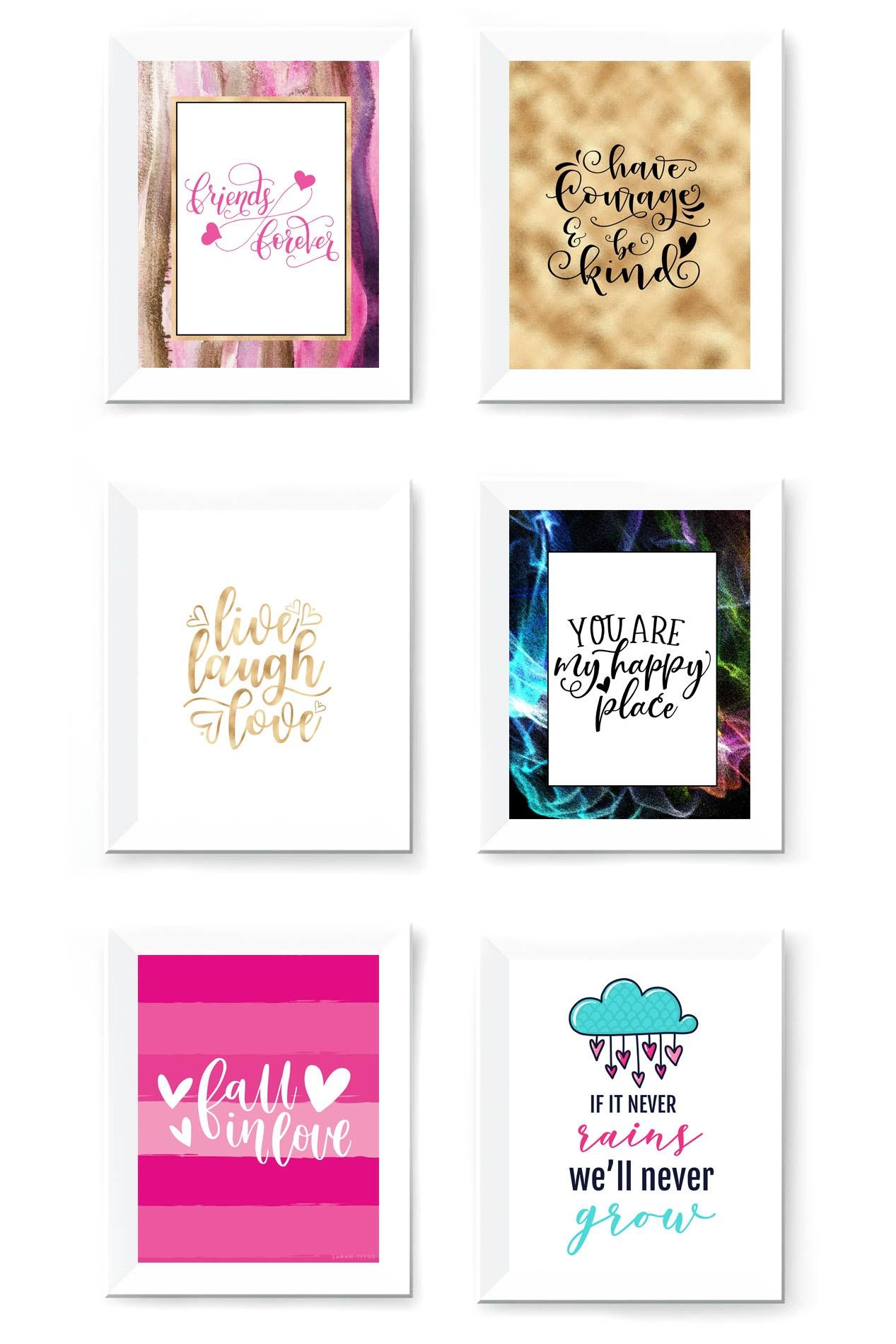 Free Printable Wall Art To Download Now - Sarah Titus - Free Printable Images