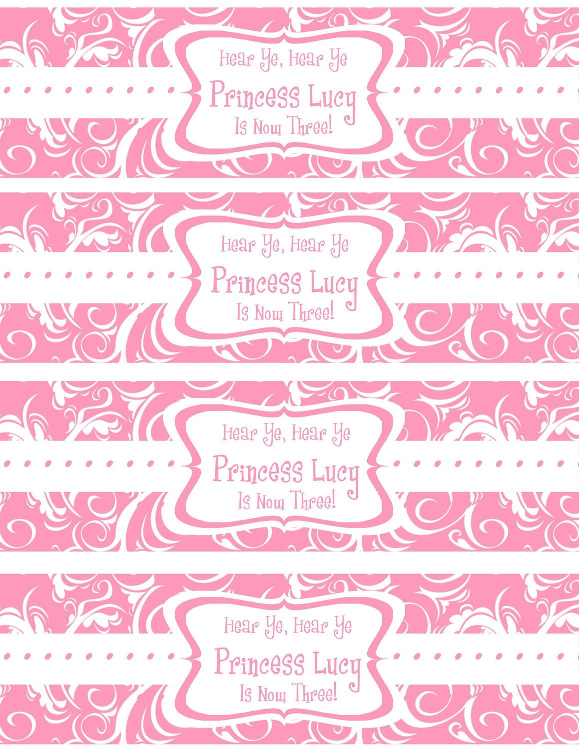 Free Printable Water Bottle Labels Template | Kreatief | Printable - Free Printable Baby Shower Labels For Bottled Water