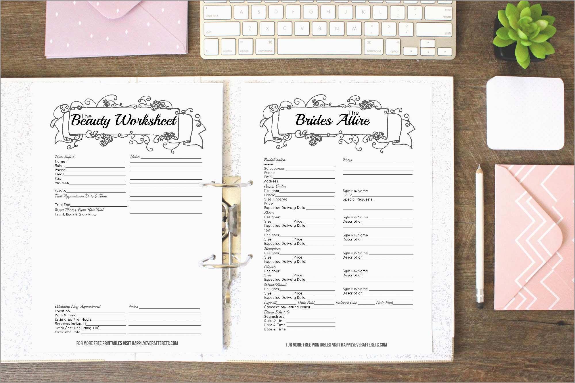 Free Printable Wedding Binder Templates Wonderfully Wedding Planner - Free Printable Wedding Organizer Templates