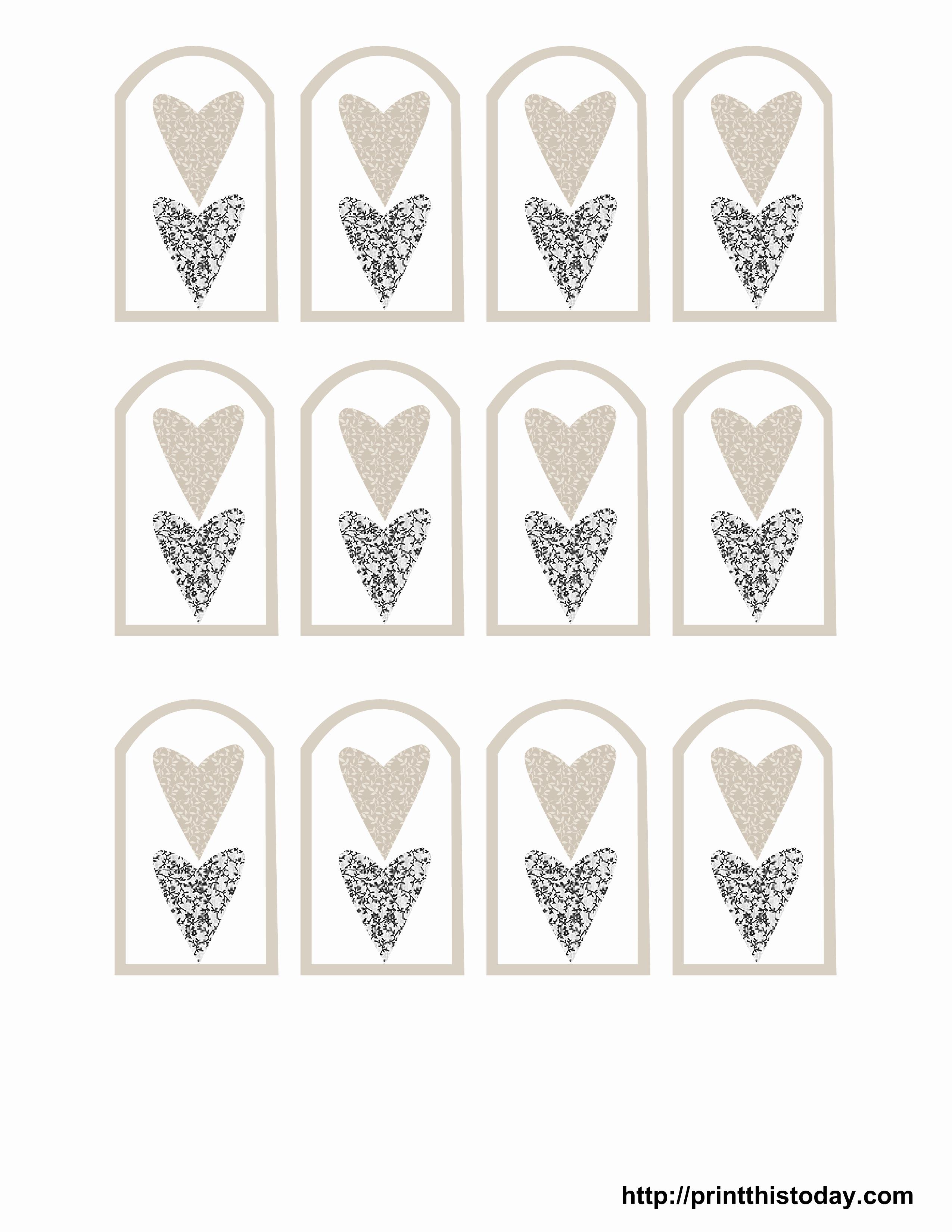 Free Printable Wedding Favor Tags – Pictimilitude - Free Printable Favor Tags