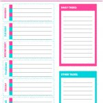 Free Printable Weekly Cleaning Checklist   Sarah Titus   Free Printable Cleaning Schedule