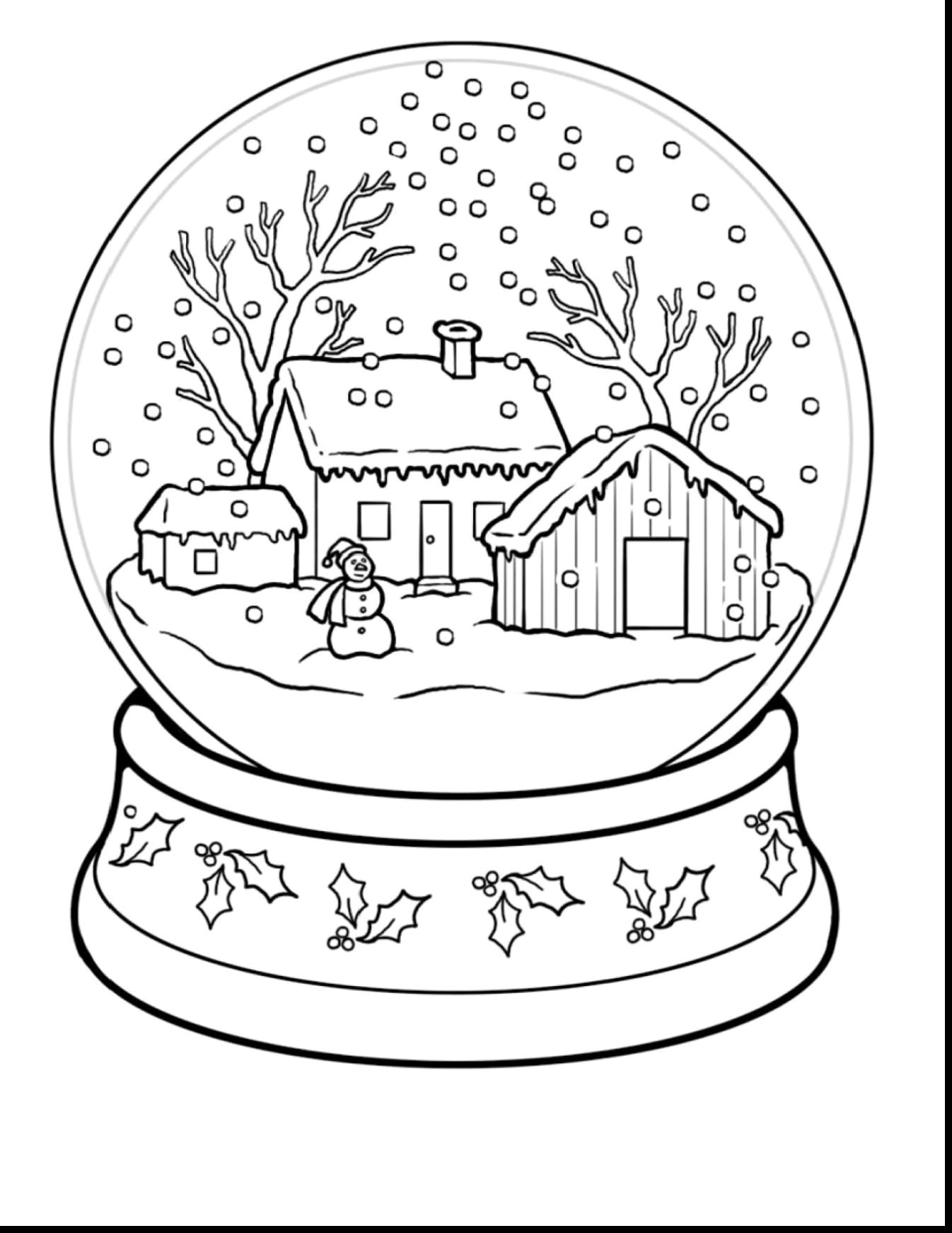Free Printable Winter Coloring Pages Page Of Scene - Telematik - Free Printable Winter Coloring Pages