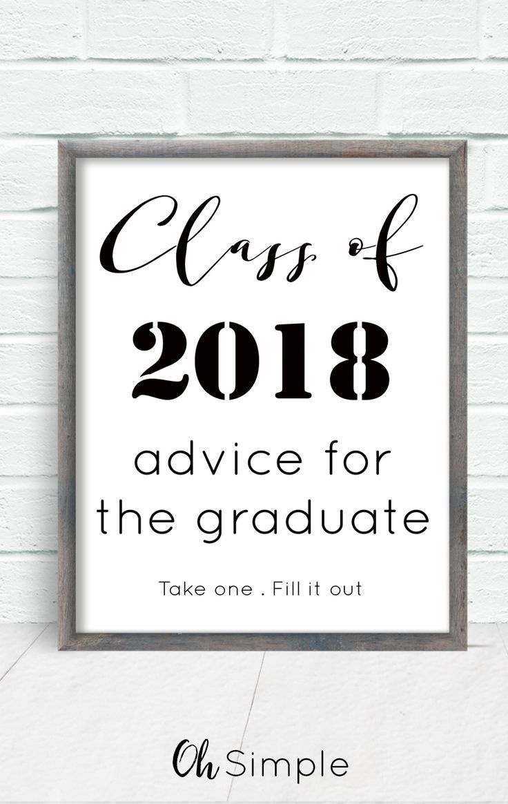 Free Printable With All Graduation Invitations. Advice For The - Free Printable Graduation Advice Cards