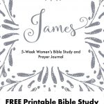Free Printable Women's Bible Study Guide And Prayer Journal For - Printable Women's Bible Study Lessons Free