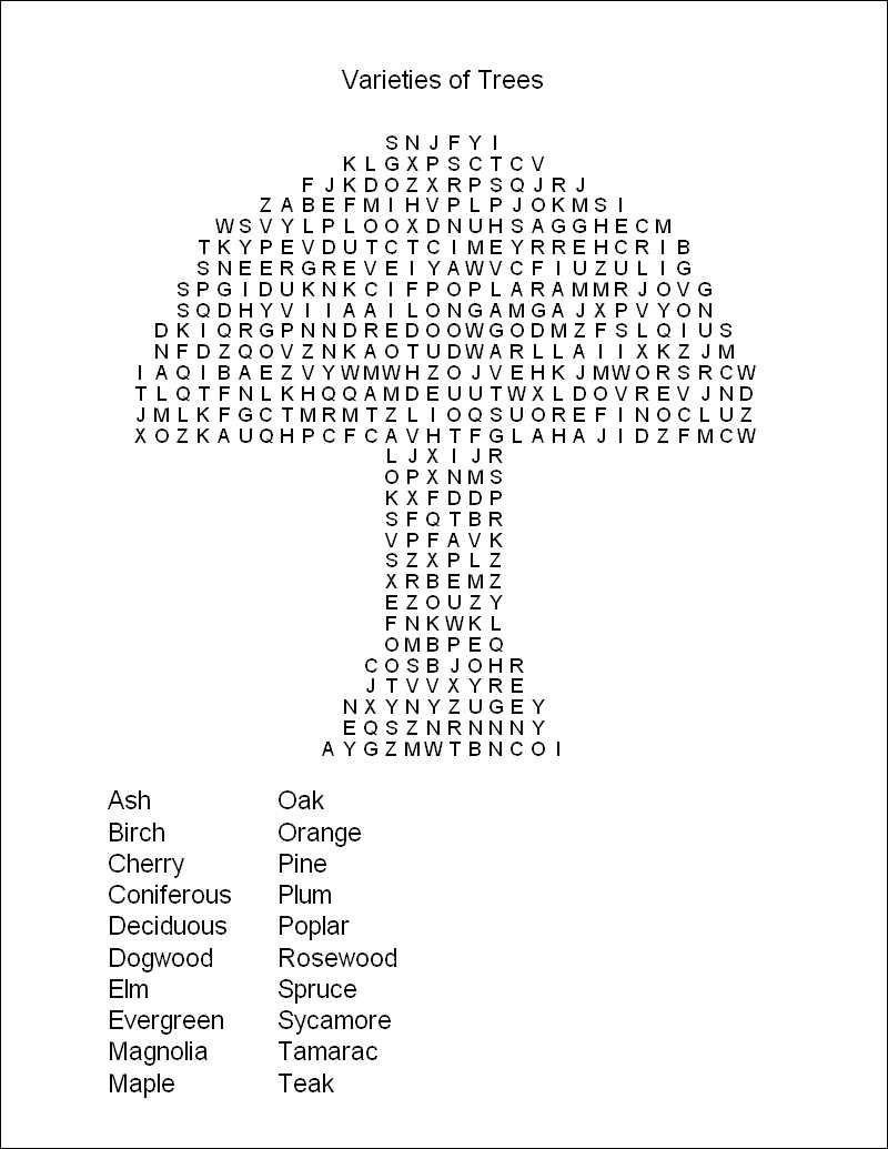Free Printable Word Search Puzzles   Word Puzzles   Projects To Try - Create A Wordsearch Puzzle For Free Printable