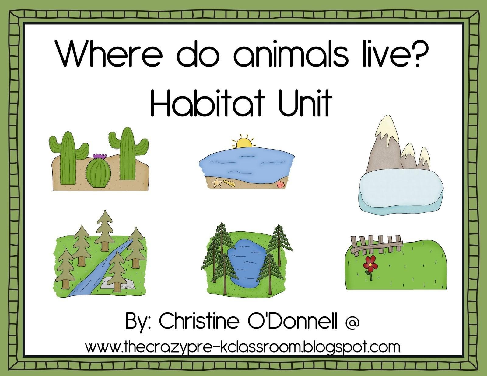 Free Printable Worksheets Animal Habitats – Orek - Free Printable Worksheets Animal Habitats