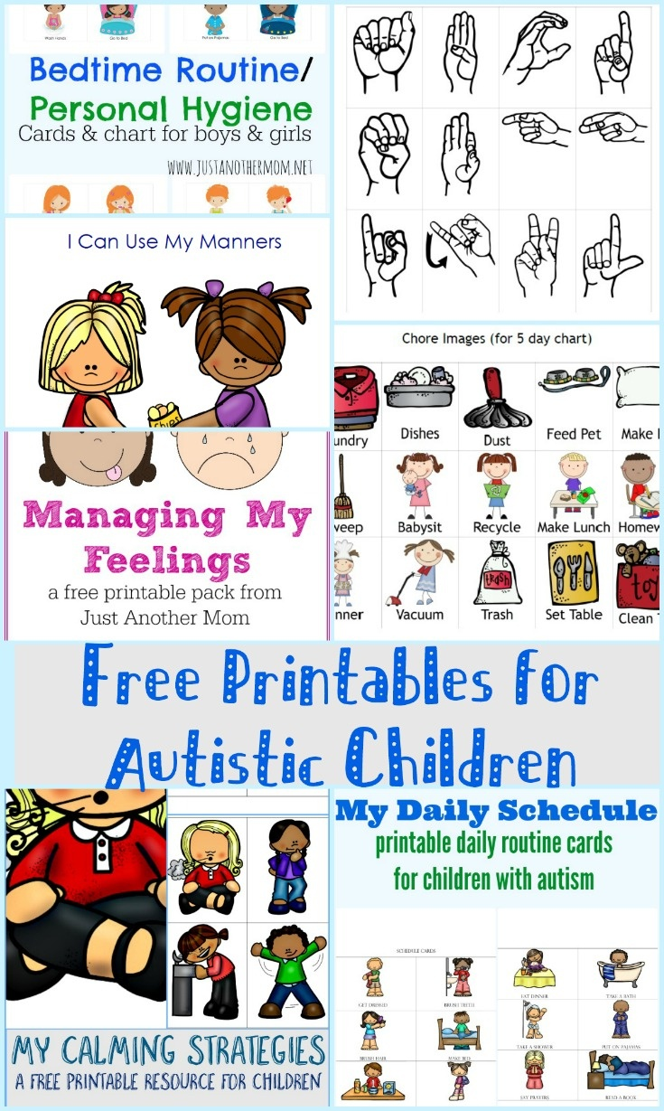 Free Printables For Autistic Children And Their Families Or Caregivers - Free Printable Social Skills Stories For Children