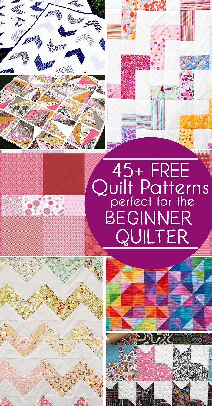 photograph regarding Quilt Templates Printable Free named 45+ Uncomplicated Rookie Quilt Designs And Absolutely free Tutorials Polka