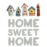 Free Quote Printable: Home Sweet Home / Lostbumblebee | Home Sweet   Home Sweet Home Free Printable