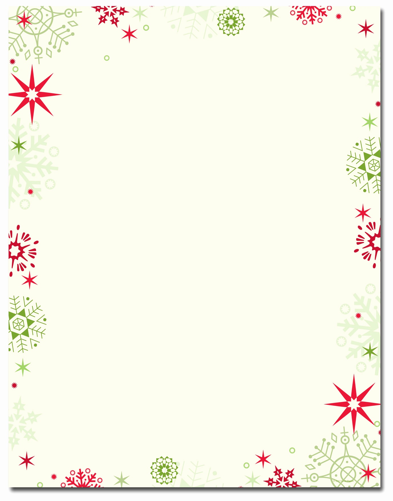 Free Religious Christmas Letterhead The Image Shop Stationery - Free Printable Christmas Paper With Borders