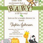 Free Safari Baby Shower Invitations   Google Search   Baby Opie Baby   Free Printable Jungle Safari Baby Shower Invitations