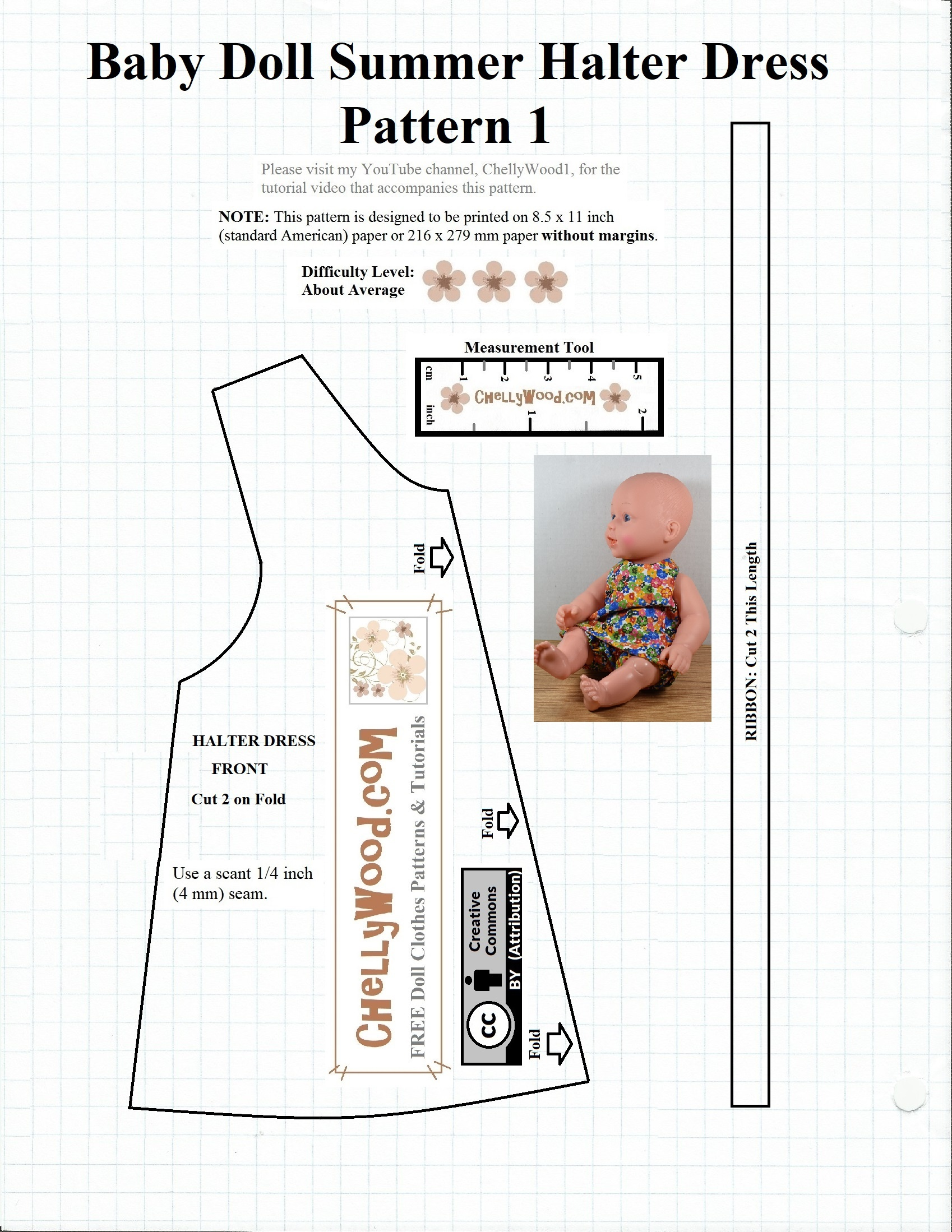 picture regarding Printable Sewing Patterns named No cost #sewing Practice For Boy or girl #dolls @ Cywood #crafts