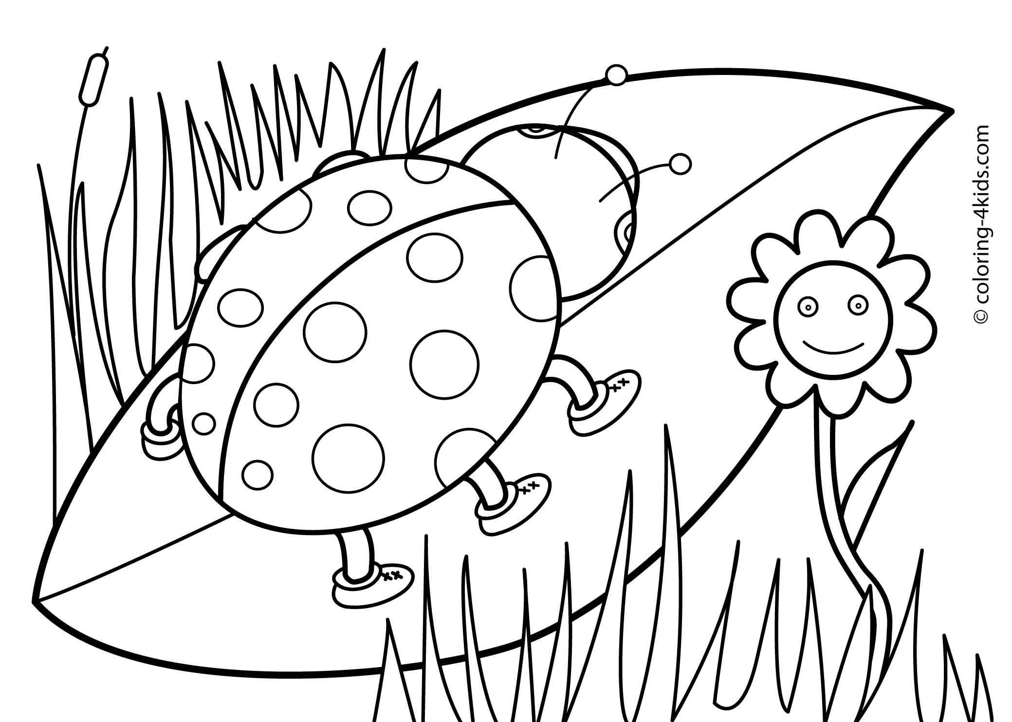 Free Spring Coloring Pages, Download Free Clip Art, Free Clip Art On - Free Printable Spring Pictures To Color