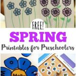 Free Spring Printables For Preschoolers | Spring Activities For Kids   Free Printable Early Childhood Activities
