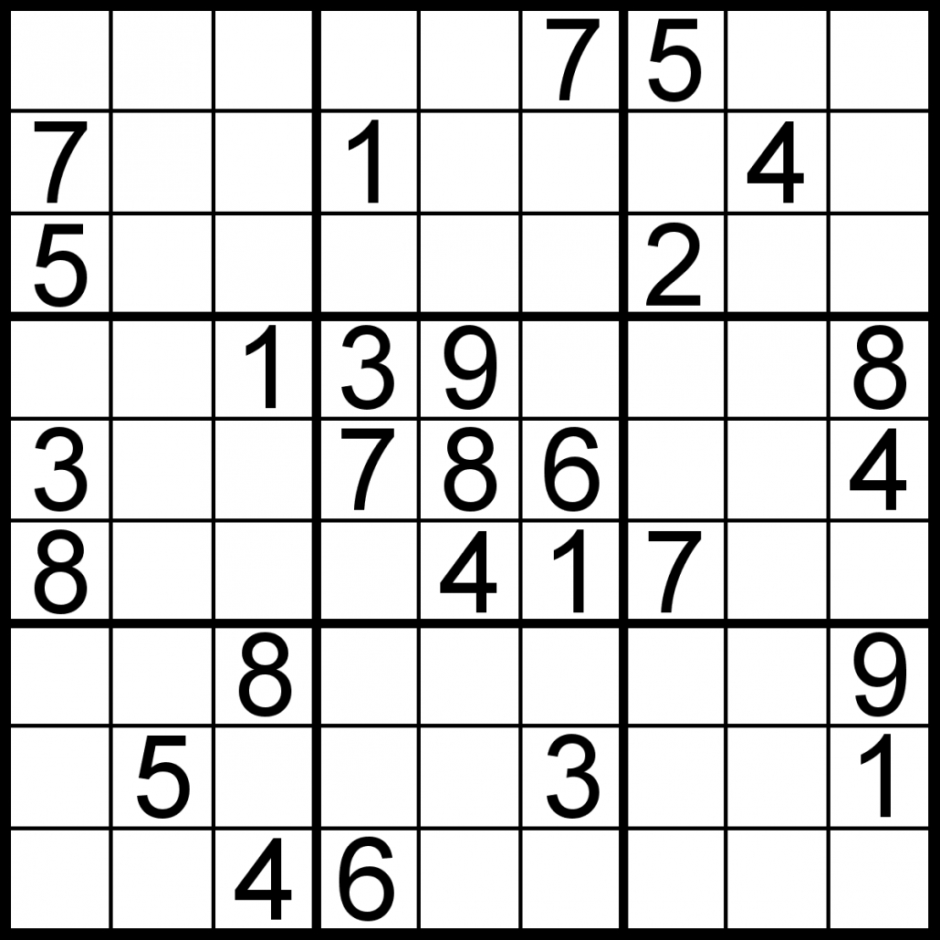 Free Sudoku For Your Local Publications! – Sudoku Of The Day - Free Printable Sudoku