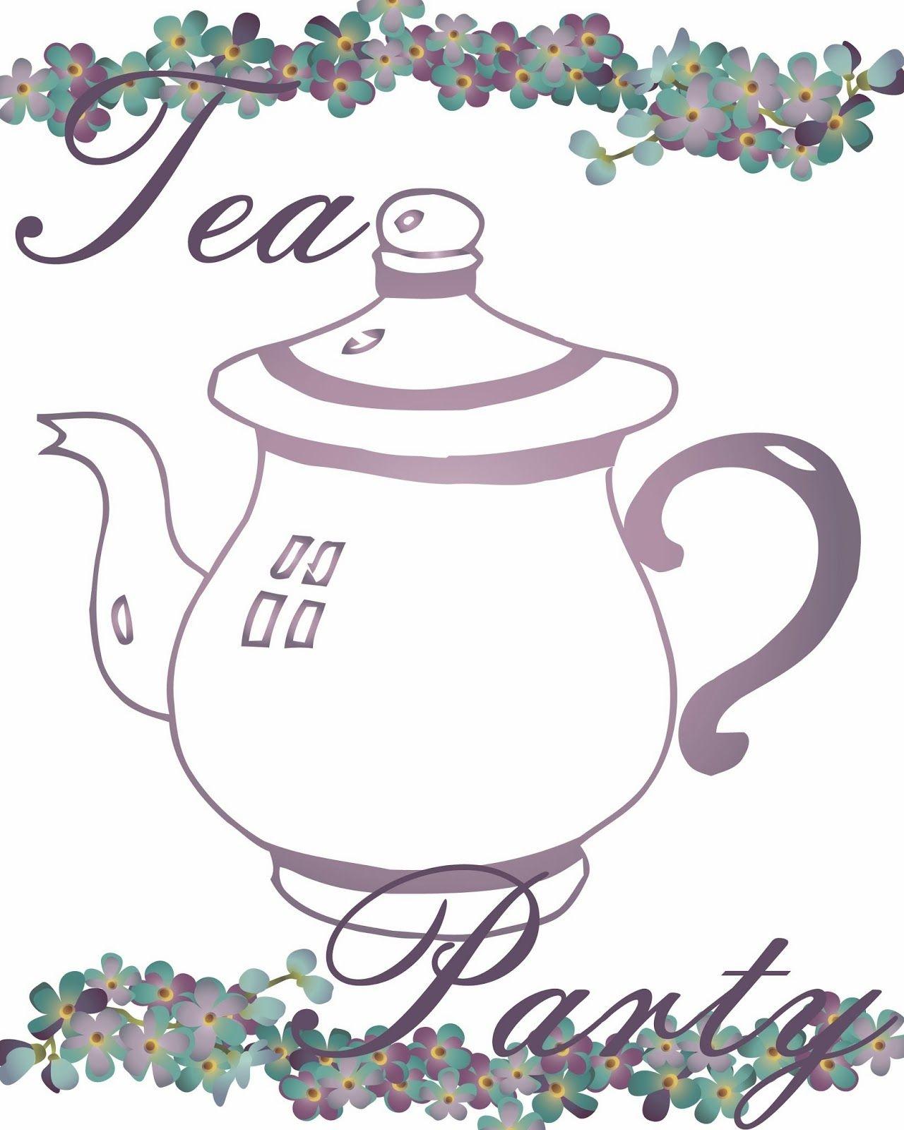 Free Tea Party Printables | Tea Time - Tea Party - Tea Everything - Free Printable Tea Party Games