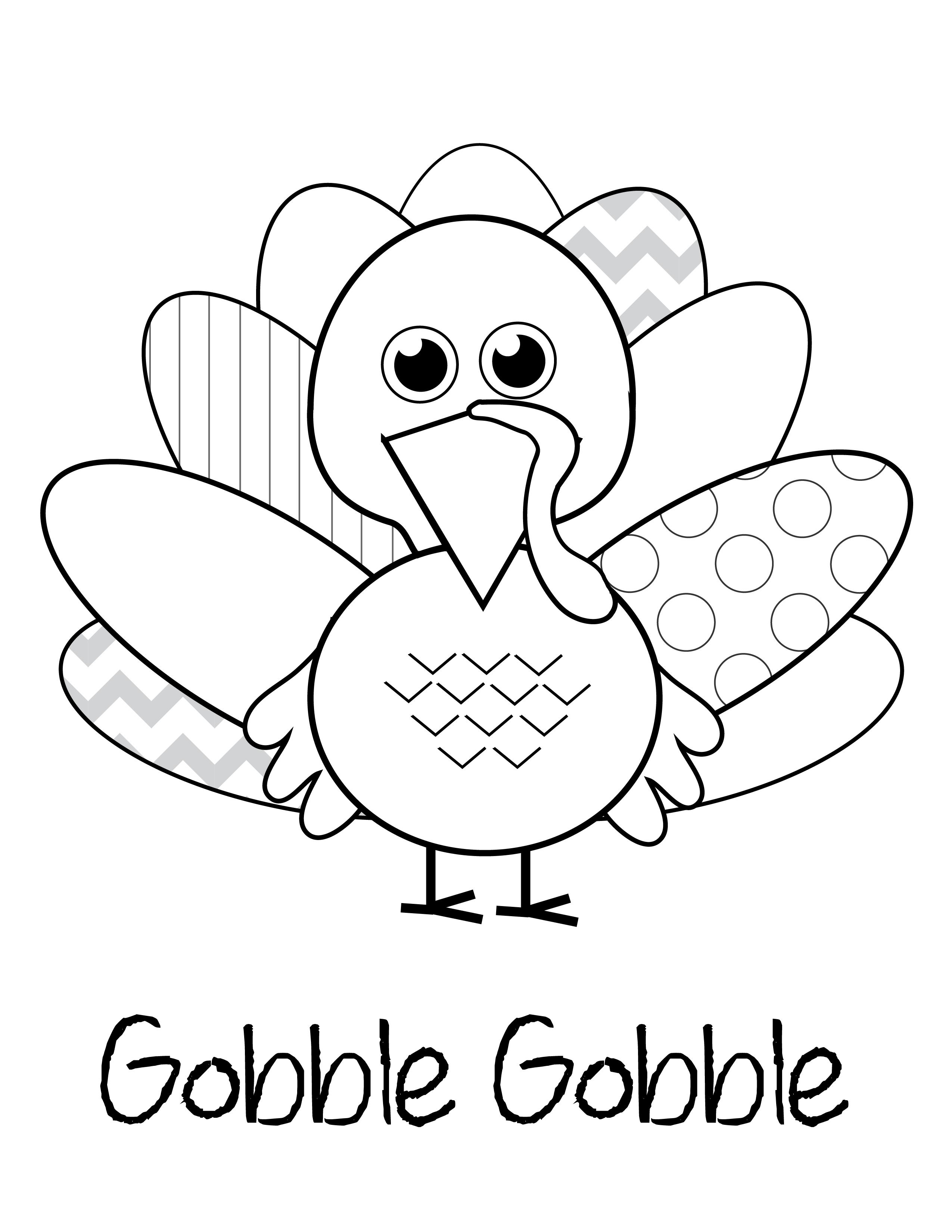 Free Thanksgiving Printables   Kids Thanksgiving Ideas - Free Printable Thanksgiving Coloring Pages