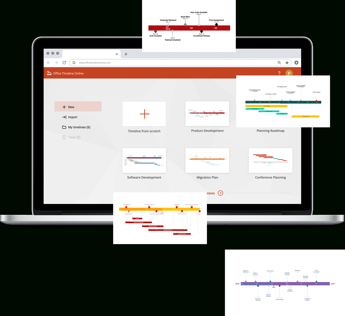 Free Timeline Makers That Save You Hours Of Work - Free Timeline Creator Printable