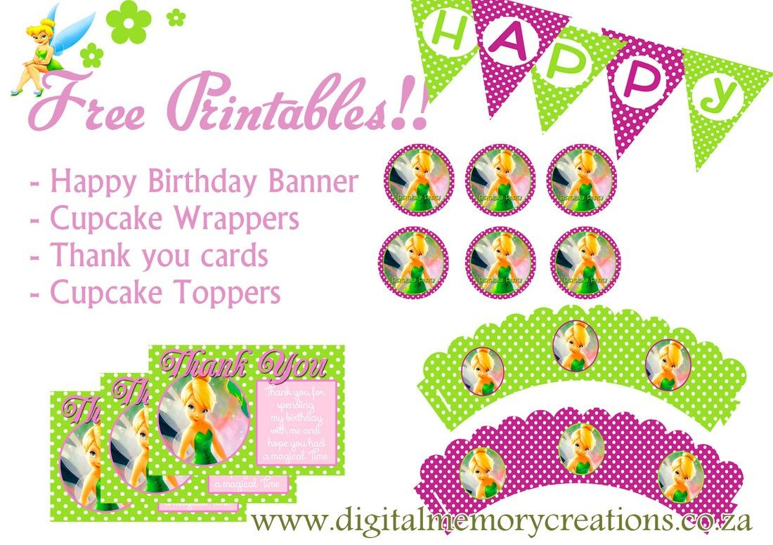 Free Tinkerbell Party Printables | Diy Projects To Try In 2019 - Free Tinkerbell Printable Birthday Invitations