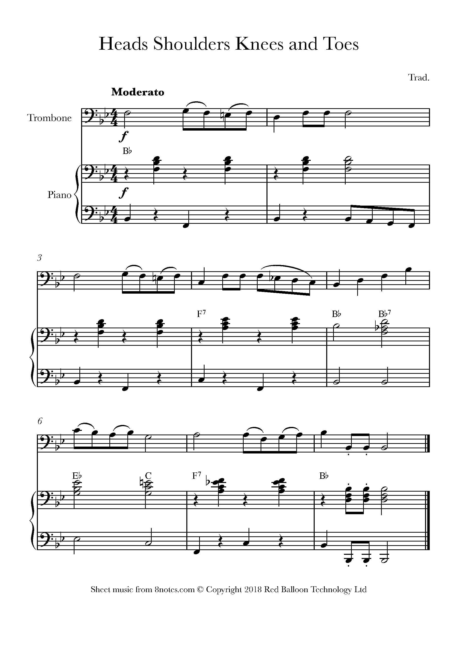 Free Trombone Sheet Music, Lessons & Resources - 8Notes - Free Piano Sheet Music Online Printable Popular Songs