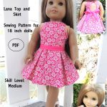 Free Tutorial Pdf | Suzymstudio … | Doll Clothes | Girl …   American Girl Clothes Patterns Free Printable