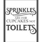 Free Vintage Bathroom Printables | Printables ** | Toilet Rules   Free Printable Do Not Flush Signs