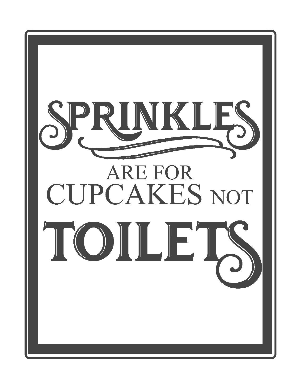 Free Vintage Bathroom Printables | Printables ** | Toilet Rules - Free Printable Do Not Flush Signs