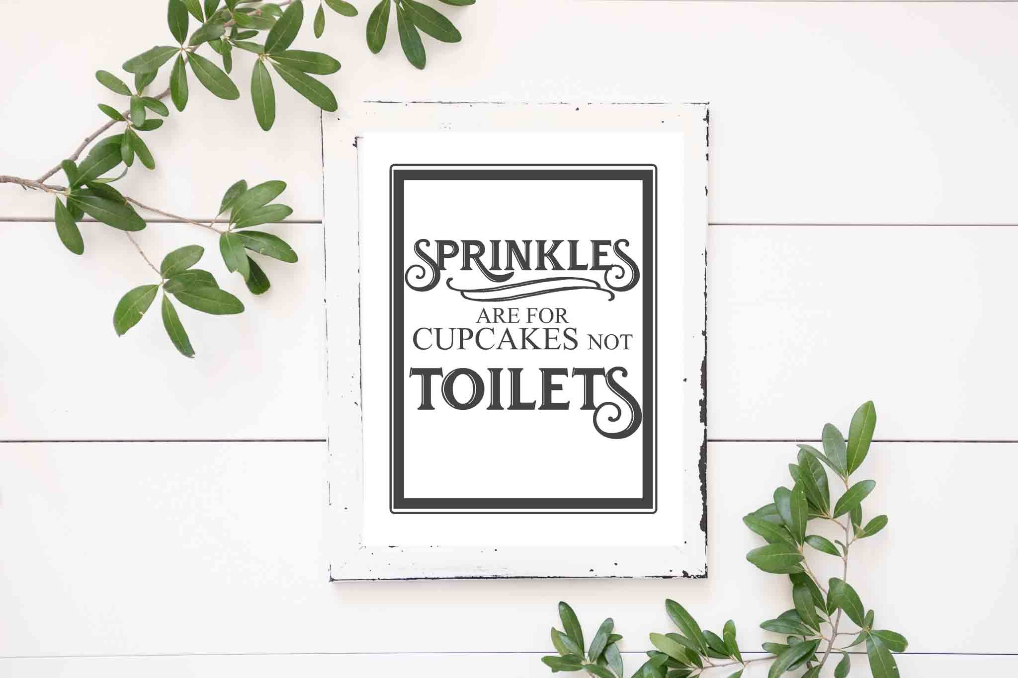 Free Vintage Bathroom Printables - The Mountain View Cottage - Free Printable Wall Art For Bathroom