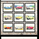 Free Vintage Car Printables | Cards   Downloadable Resources   Free Printable Nursery Resources