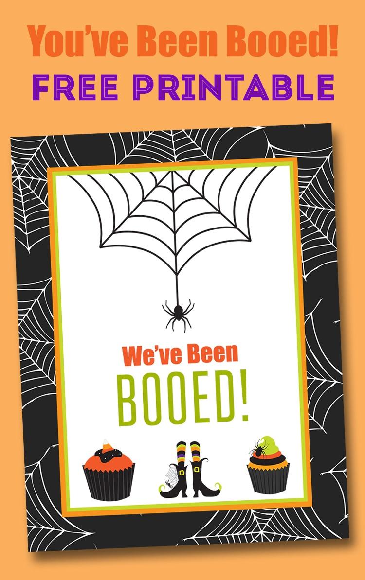Free You've Been Booed Printable - Neighborhood Boo Tradition   Lil - We Ve Been Booed Free Printable