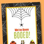Free You've Been Booed Printable   Neighborhood Boo Tradition | Lil   You Ve Been Booed Free Printable