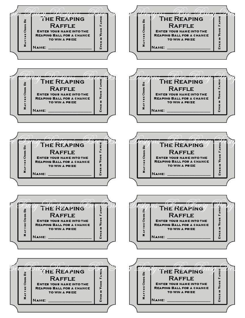 Free+Printable+Raffle+Tickets+Sheets | Church Ideas | Ticket - Free Printable Raffle Tickets With Stubs