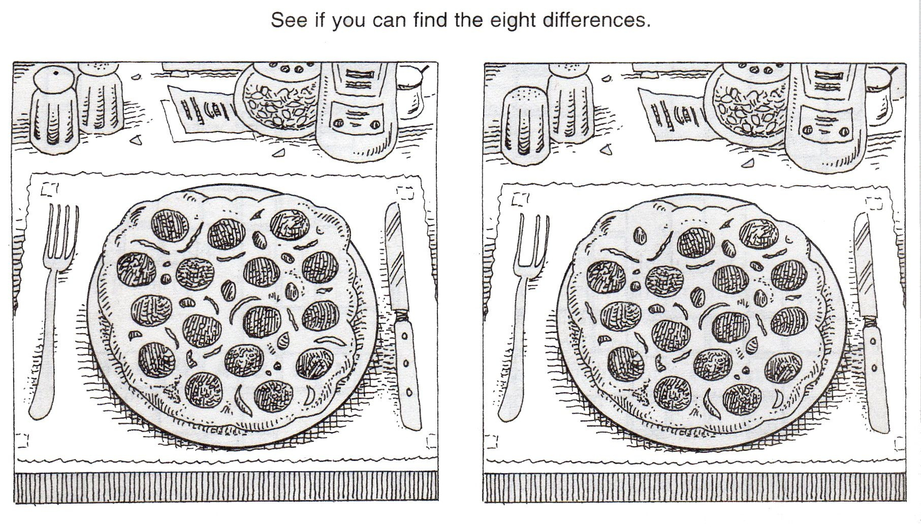Free+Printable+Spot+The+Difference+Puzzles | Hg | Spot The - Free Printable Spot The Difference Worksheets